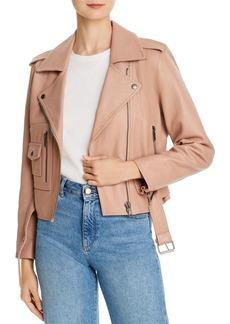 Joie Ondra Leather Moto Jacket