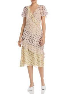 Joie Orita B Floral-Silk Dress