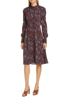 Equipment Ouesse Long Sleeve Dress