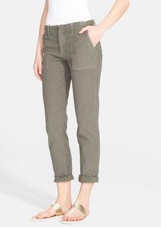 Joie Painter Cotton & Linen Pants