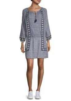 Joie Paisley Peasant Dress