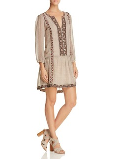 Joie Paradiso Embroidered Dress