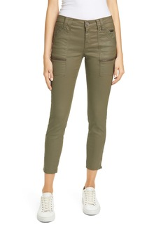 Joie Park Coated Zip Cuff Skinny Pants