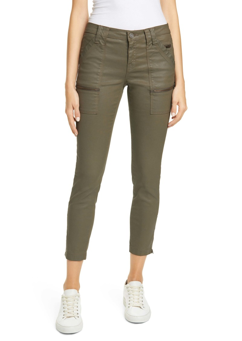 Joie Park Coated Zip Cuff Skinny Pants