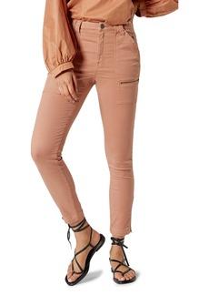 Joie Park High Waist Stretch Cotton Blend Skinny Pants