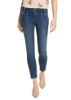 Joie Park Zip Cuff Ankle Skinny Jeans (Cruise)