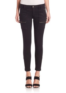 Joie Park Zippered Skinny Jeans