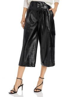Joie Patelle Faux-Leather Culottes