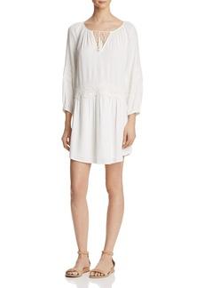 Joie Pauletta Appliqu�d Lace Trim Dress