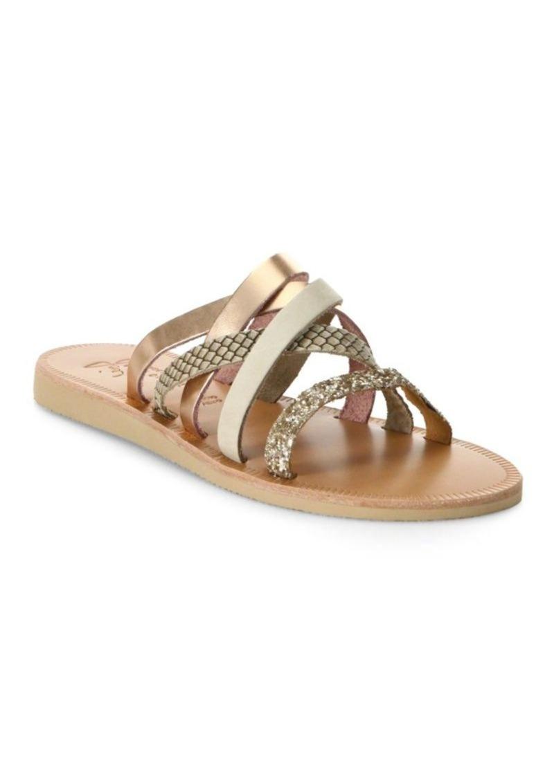 Joie Paxon Glitter & Nubuck Sandals