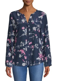 Joie Purine Silk Floral Blouse