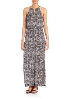Joie Quinette Printed Maxi Dress