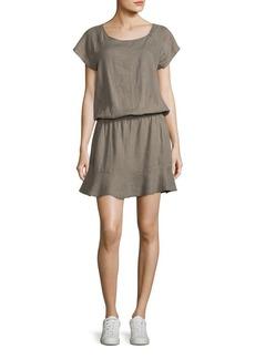 Joie Quora Linen Blouson Dress