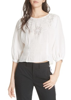 Joie Radeli Bell Sleeve Top