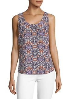 Joie Rain G Butterfly Silk Top
