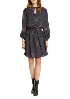 Joie Ramla Keyhole Neck Long Sleeve Dress