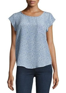 Joie Rancher Printed Silk Top