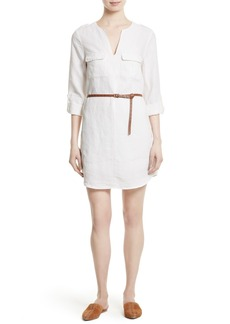 Joie Rathana C Belted Shirtdress