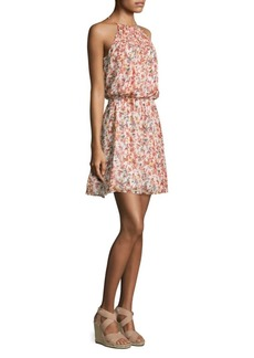 Joie Reinelde Floral Blouson Dress