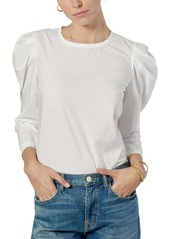 Joie Rene Puff Shoulder Blouse