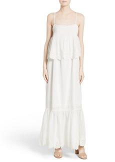 Joie Rey Tiered Maxi Dress