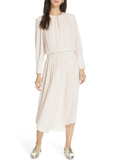 Joie Rheia Pleat Midi Dress