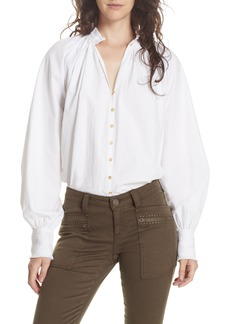 Joie Rickelle Cotton Poet Blouse