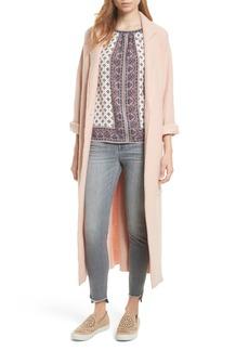 Joie Rodina Long Wool Blend Coat