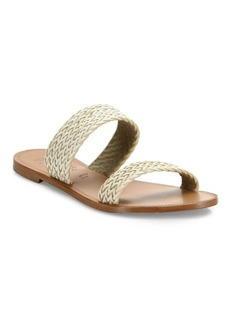 Joie Sable Woven Leather Slides