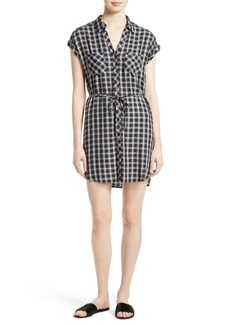 Joie Safia Plaid Shirtdress