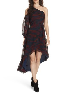 Joie Sala Asymmetrical Silk Dress