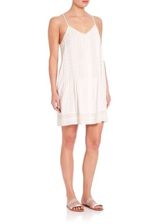 Joie Samaris Embroidered Eyelet Dress