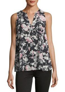 Joie Senia Floral Silk Blouse