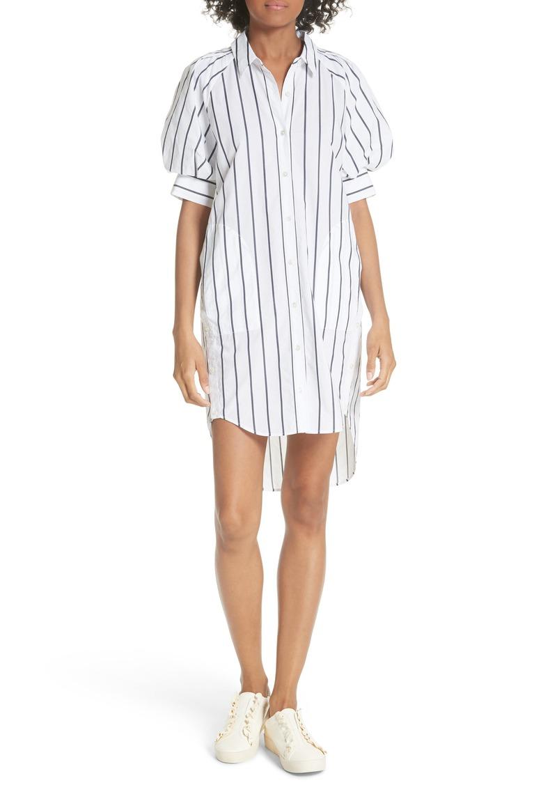 Joie Sephira Stripe Shirtdress