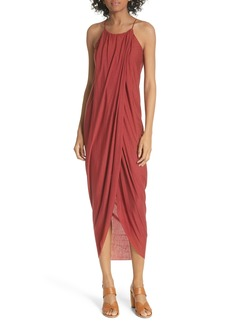 Joie Serlina Draped Maxi Dress