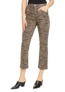 Joie Sharma Tiger Stripe Crop Pants