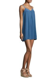 Joie Silk V-Neck Dress
