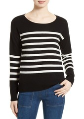Joie Simonne Stripe Wool & Cashmere Sweater