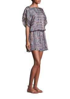 Joie Sofinne Silk Blouson Dress