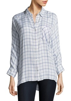 Joie Soft Joie Aralinne Plaid Blouse