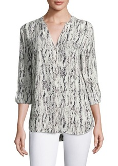 Joie Soft Joie Dane Graphic Printed Blouse