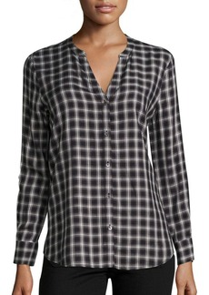 Joie Soft Joie Dane Plaid Button Down Shirt