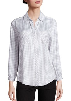 Joie Soft Joie Faline Gingham Blouse