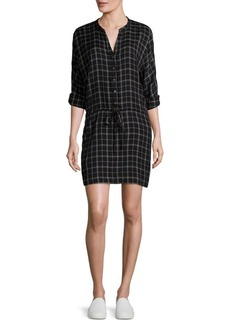 Joie Soft Joie Iselyn Plaid Shirtdress