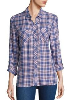 Joie Soft Joie Lilya Plaid Button-Down Shirt