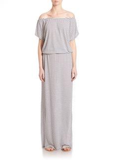 Joie Soft Joie Zaina Striped Maxi Jersey Dress