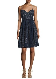 Joie Solandra Sleeveless Lace Dress