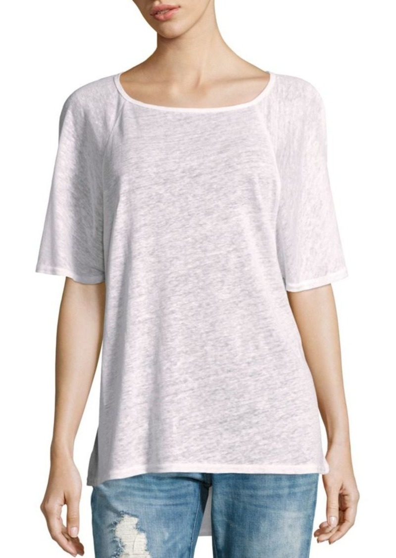 Joie Solid Heathered Top