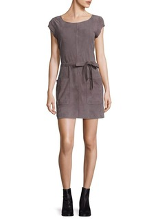 Joie Solid Suede Dress