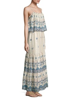 Joie Sorne B Printed Silk Maxi Dress